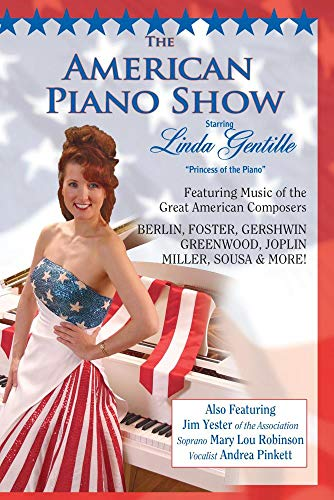 AMERICAN PIANO SHOW DVD starring Linda Gentille