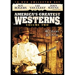 America's Greatest Westerns Collector Set V.2 10-DVD Pack