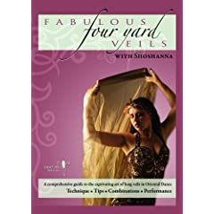 Fabulous Four Yard Veils with Shoshanna - Belly Dance