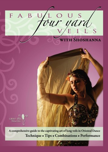 Fabulous Four Yard Veils with Shoshanna - Belly Dance