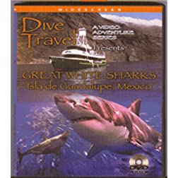 Dive Travel - Great White Sharks - Isla de Guadalupe - Mexico on Blu-ray [Blu-ray]