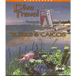 Dive Travel - Turks & Caicos with Divemaster Gary Knapp on Blu-ray [Blu-ray]