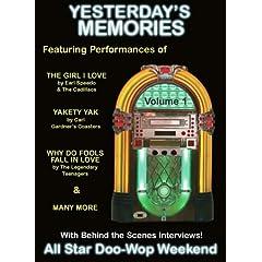 Yesterdays Memories - All Star Doo-Wop Weekend DVD-Vol. 1
