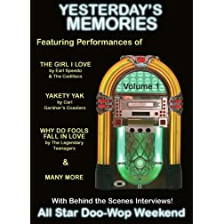 Yesterdays Memories - All Star Doo-Wop Weekend DVD-Vol. 1