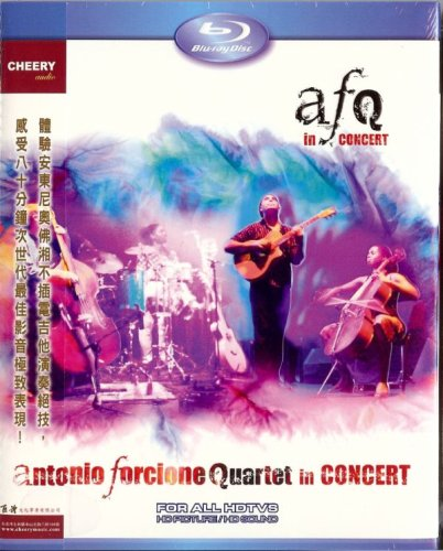 Antonio Forcione Quartet in Concert [Blu-ray]