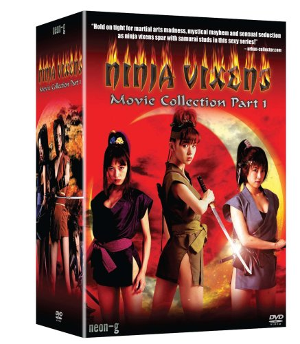 Ninja Vixens: Movies 1-5 Box Set