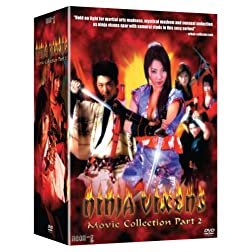 Ninja Vixens: Movies 6-10 Box Set