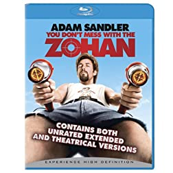 You Don't Mess With the Zohan (Unrated) [Blu-ray]