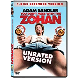 You Don't Mess With the Zohan (Unrated Single-Disc Edition)