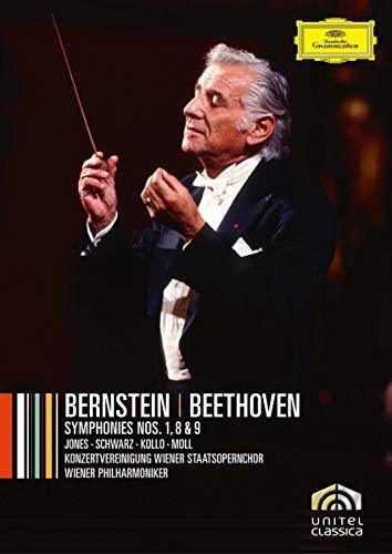 Bernstein: Beethoven Symphonies Nos. 1, 8 & 9