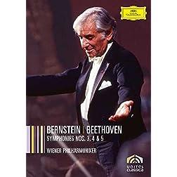 Bernstein: Beethoven Symphonies Nos. 3, 4 & 5