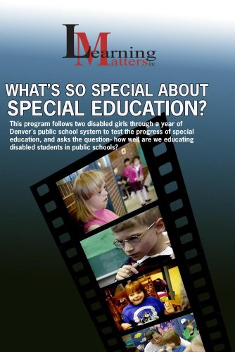 What's So Special About Special Education?