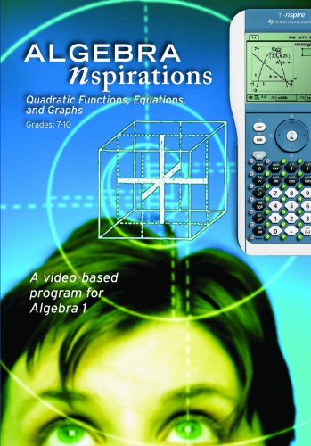Algebra Nspirations: Quadratic Functions, Equations, and Graphs
