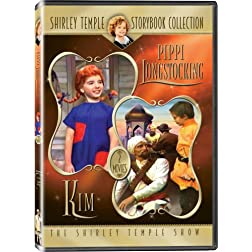 Shirley Temple Storybook Collection: &quot;Pippi Longstocking&quot; and &quot;Kim&quot; - IN COLOR!