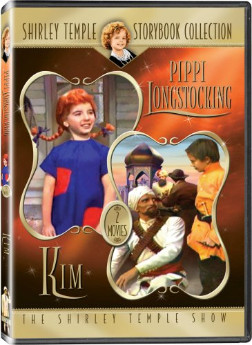 "Shirley Temple Storybook Collection: ""Pippi Longstocking"" and ""Kim"" - IN COLOR!"