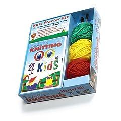 DVD The Art of Knitting 4 Kids Kit (Leisure Arts #46756)