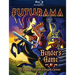 Futurama: Bender's Game [Blu-ray]