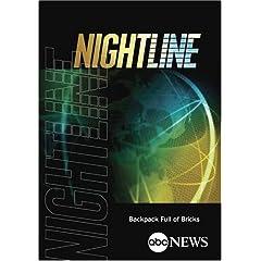 ABC News Nightline Backpack Full of Bricks