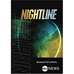 ABC News Nightline Backpack Full of Bricks