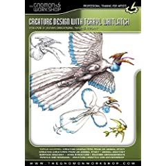 Creature Design with Terryl Whitlach; Vol. 2 Avian Creature - White Fright