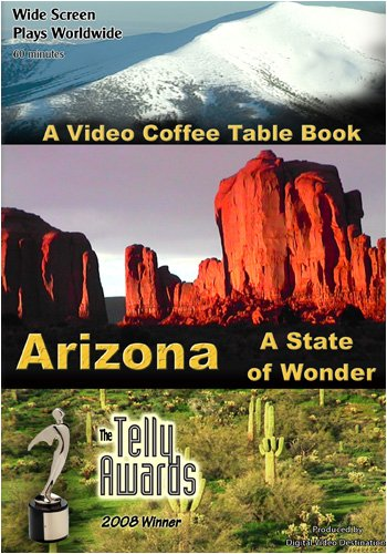 A Video Coffee Table Book  Arizona A State of Wonder