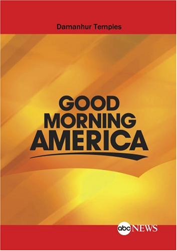 ABC News Good Morning America Damanhur Temples
