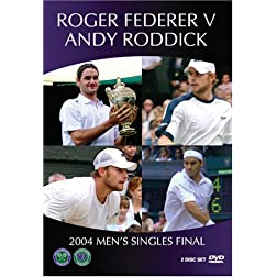 Wimbledon 2004 Men's Final - Federer vs. Roddick