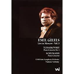 Emil Gilels: Live in Moscow, Vol. 5 - Tchaikovsky/Schumann