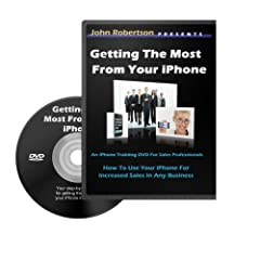 Getting The Most From Your iPhone - For Sales Professionals (iPhone Training DVD)