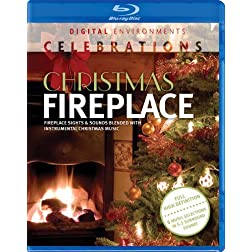 Christmas Fireplace [Blu-ray]
