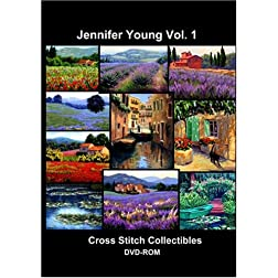 Jennifer Young Cross Stitch Vol. 1