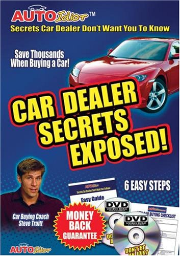 CAR DEALER SECRETS EXPOSED!  AutoIdiot, The DVD Every Car Buyer Must See DVD (2 Disc Set)