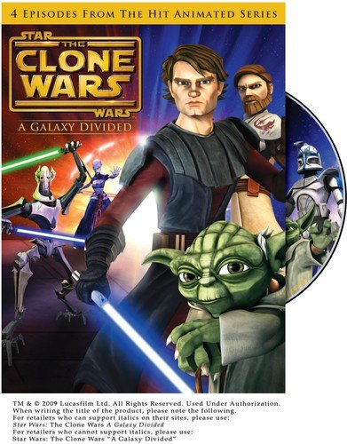 Star Wars: The Clone Wars - A Galaxy Divided (TV Series)