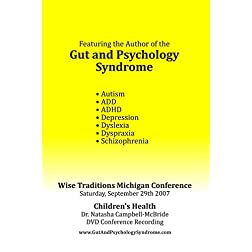 Gut and Psychology Syndrome DVD