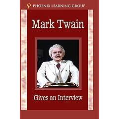 Mark Twain Gives an Interview
