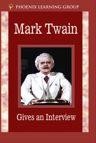 Mark Twain Gives an Interview