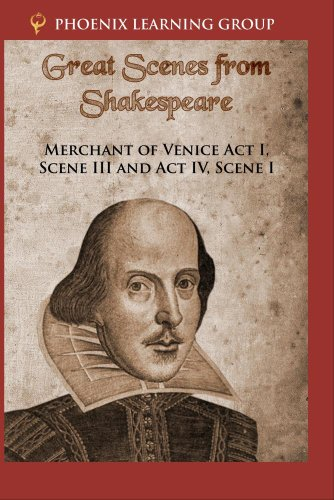 Merchant of Venice Act I, Scene III and Act IV, Scene I