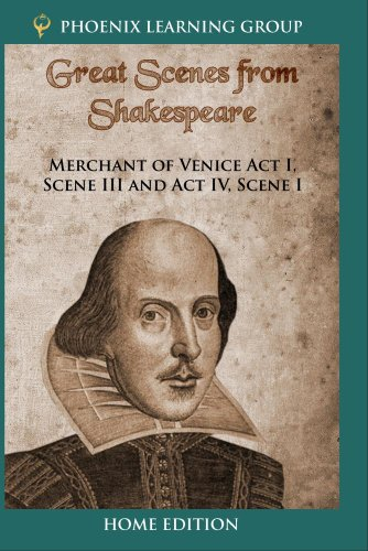 Merchant of Venice Act I, Scene III and Act IV, Scene I (Home Use)