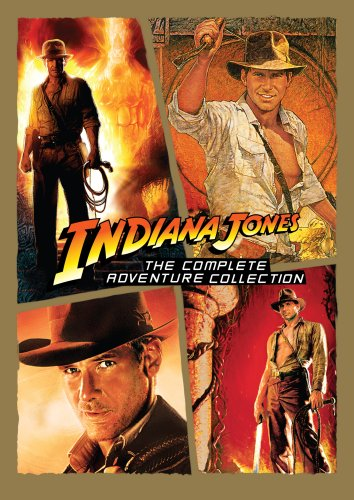 Indiana Jones - The Complete Adventure Collection (Raiders of the Lost Ark/ Temple of Doom/ Last Crusade/ Kingdom of the Crystal Skull)