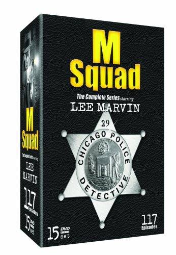 M Squad - The Complete Series starring Lee Marvin - 15 DVD Box Set, Plus Bonus CD - The Music From M Squad