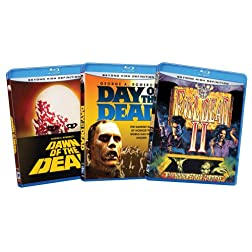 Zombie Bundle(Day of the Dead / Dawn of the Dead / Evil Dead II) (Amazon.com Exclusive) [Blu-ray]