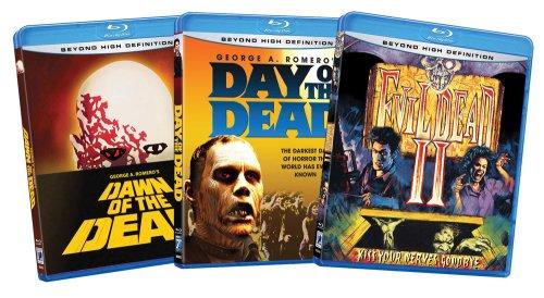 Zombie Bundle(Day of the Dead / Dawn of the Dead / Evil Dead II) (Amazon.com Exclusive) [Blu-ray]