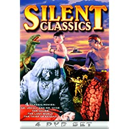 Silent Classics (Dr. Jekyll & Mr. Hyde / The Golem / The Lost World / The Thief of Baghdad) (4-DVD)