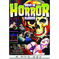 Drive-In Horror Classics (The Head / I Eat Your Skin / The Manster / Screaming Skull) (4-DVD)