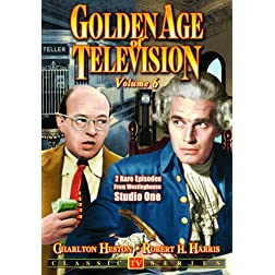 Golden Age Of Television - Volume 6: A Bolt Of Lightning / The Rabbitt