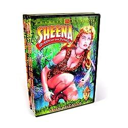 Sheena Queen Of The Jungle - Volumes 1-3 (3-DVD)