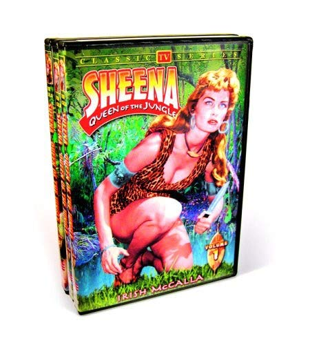Sheena Queen Of The Jungle - Volumes 1-3 (3-DVD)