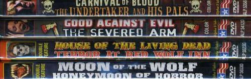 Grindhouse Horror Collection, Volume 1 (Carnival Of Blood / The Undertaker And His Pals / Good Against Evil / The Severed Arm / House of the Living Dead ... Of The Wolf / Honeymoon of Horror) (4-DVD)