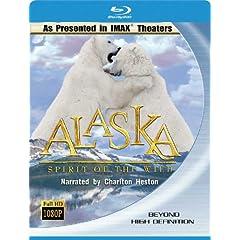 Imax Alaska-Spirit of the Wild [Blu-ray]