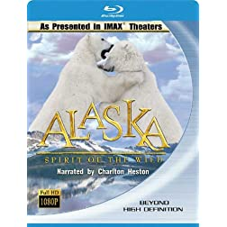 Imax Alaska-Spirit of the Wild [Blu-ray]